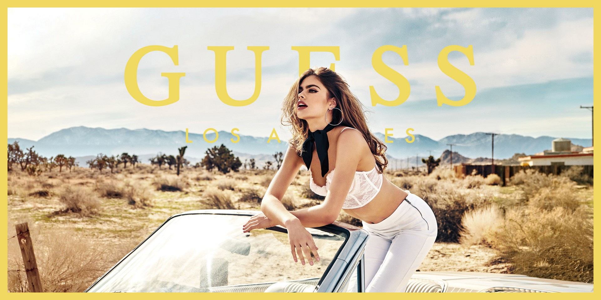 GUESS Summer Campaign