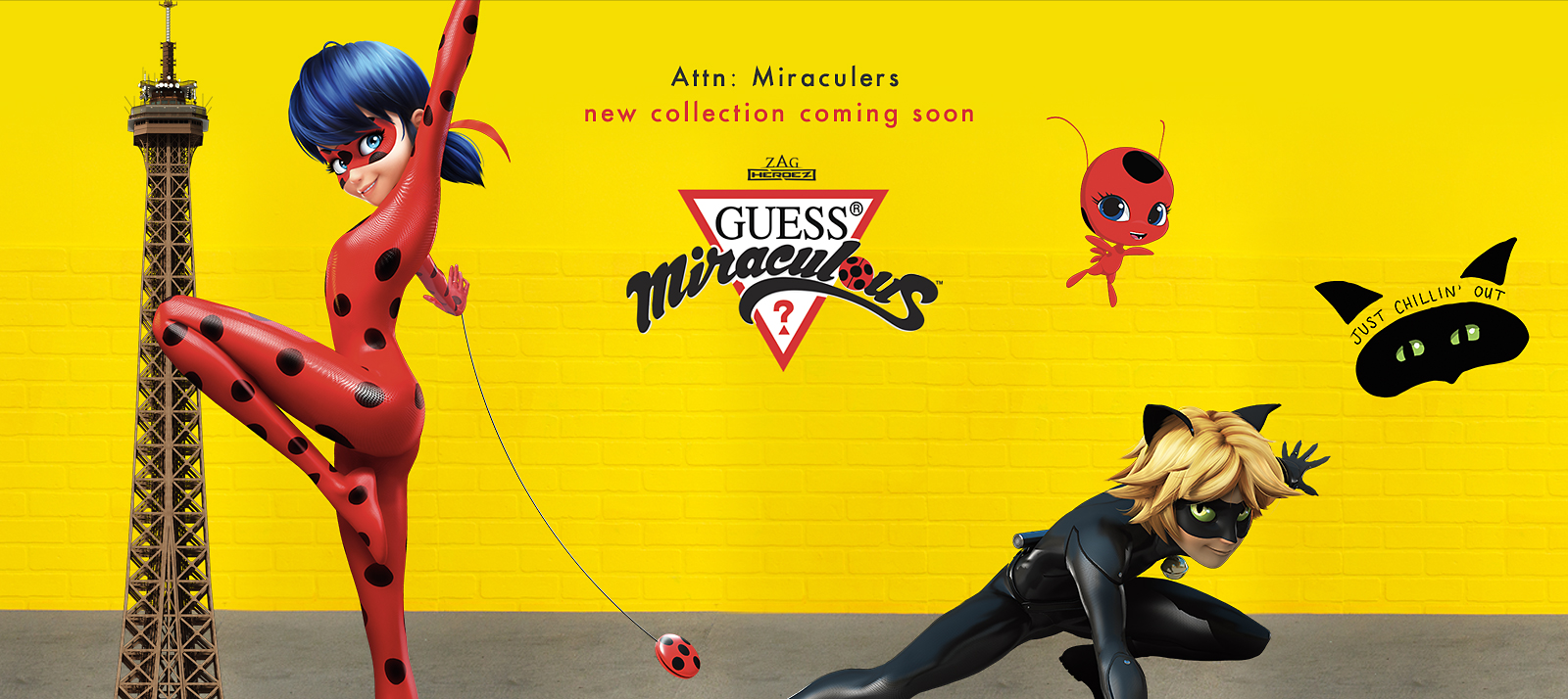 New GUESS x Miraculous collection coming soon