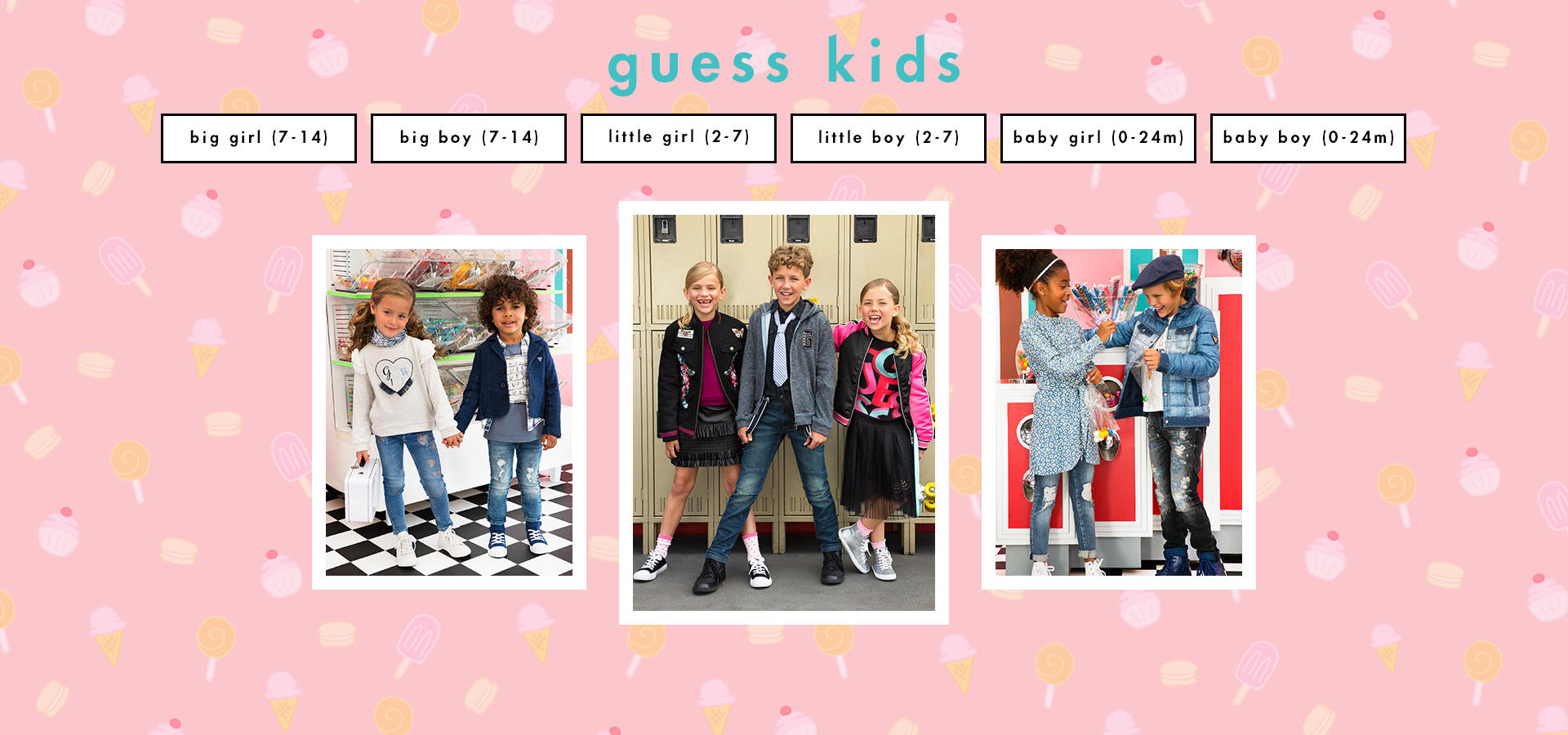 Kids Apparel Accessories Guess
