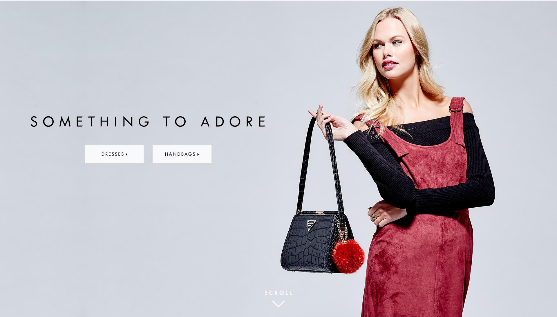 Something to Adore: Dresses & Handbags
