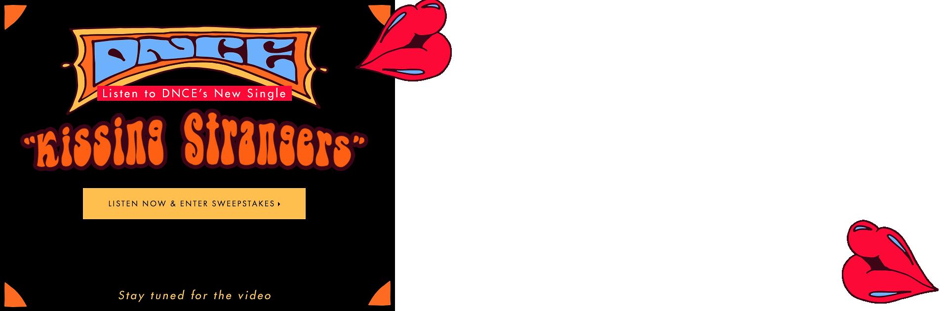 DNCE Kissing Strangers