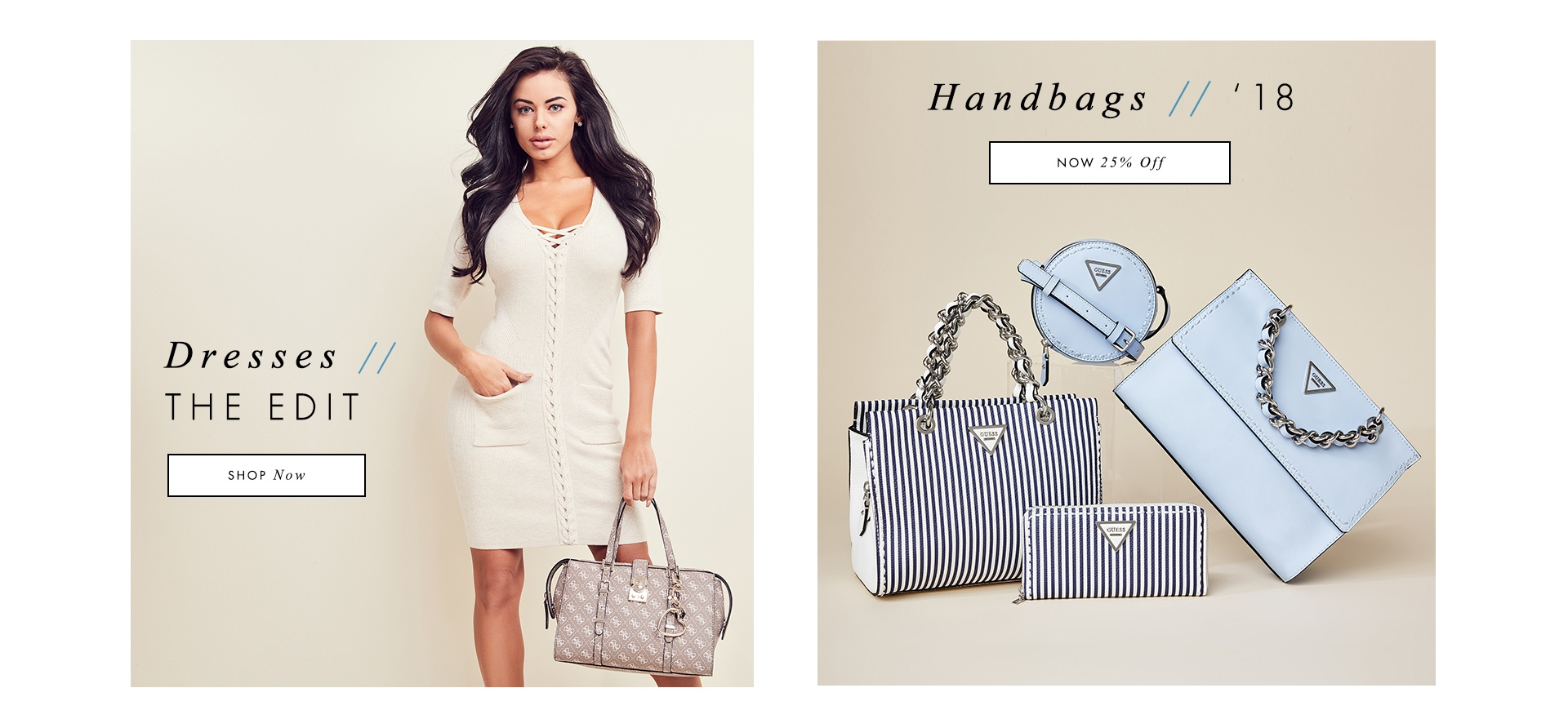 Shop Dresses and Handbags