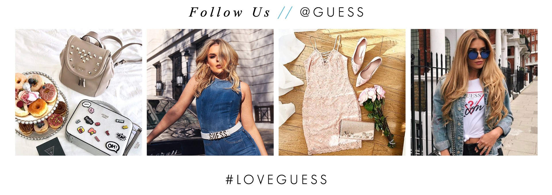 @GUESS on Instgram