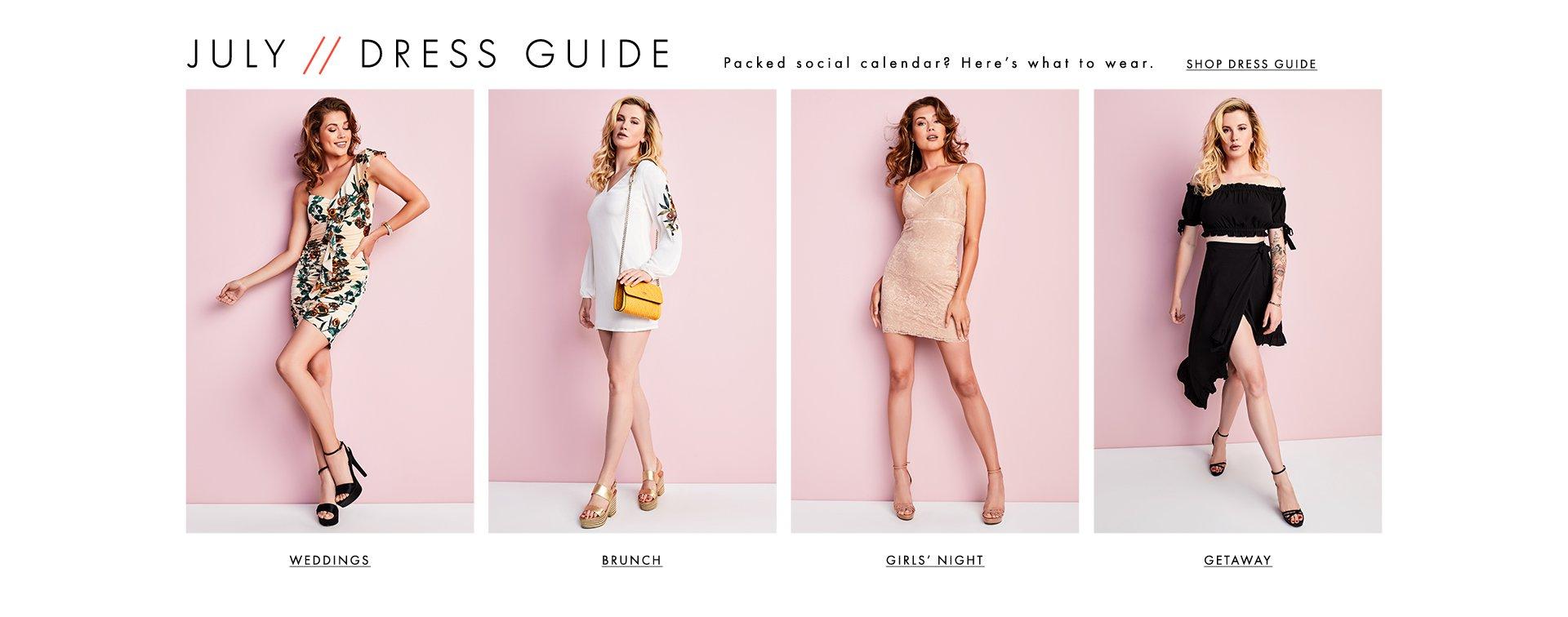 Shop Dress Guide