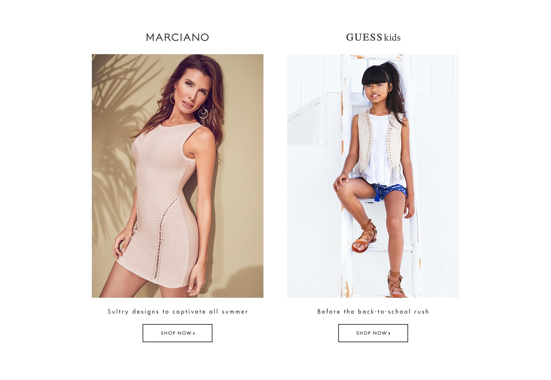 Shop Marciano & Kids