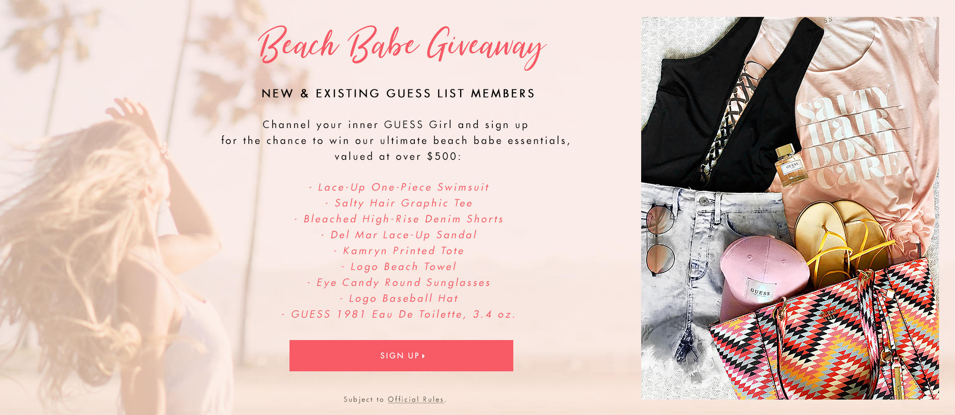 Beach Babe Giveaway