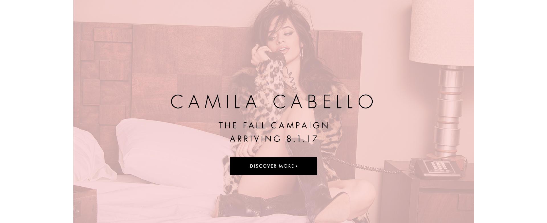 Camila Cabello The Fall Campaign