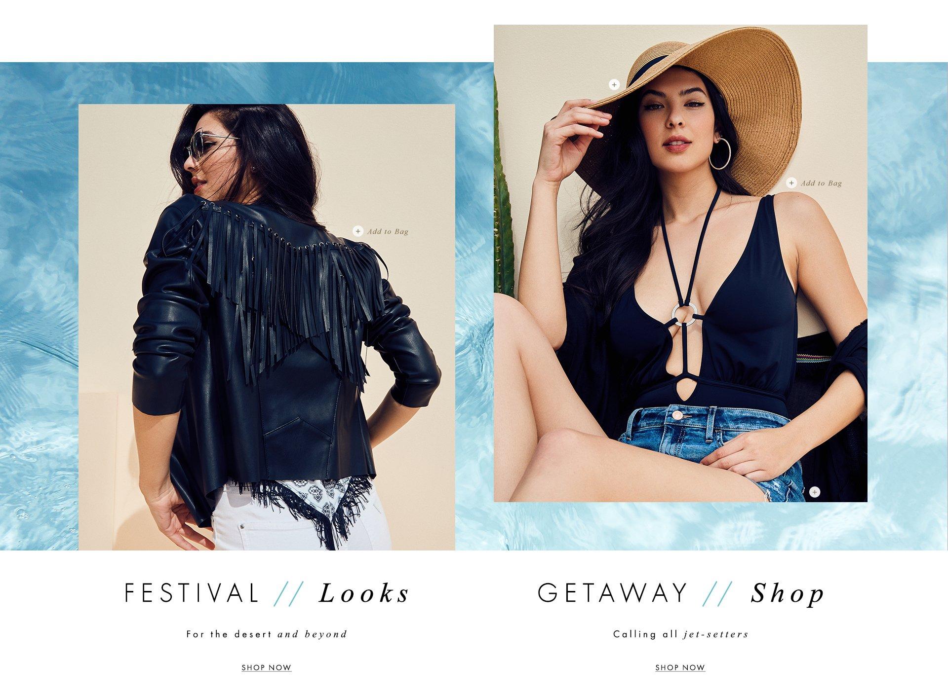 Festival Looks Getaway Shop