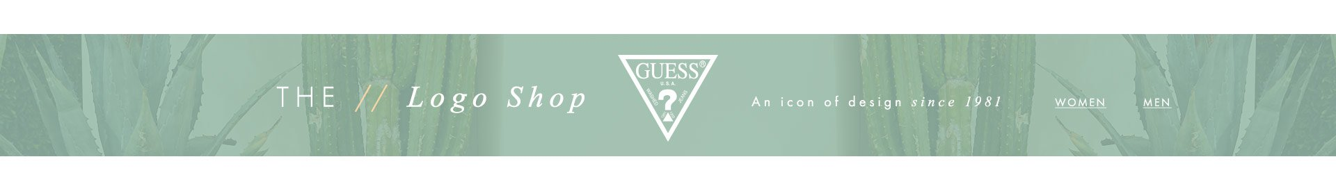 Shop The GUESS Logo