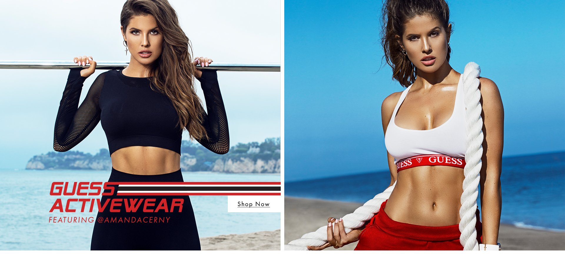 GUESS Activewear featuring AMANDA CERNY
