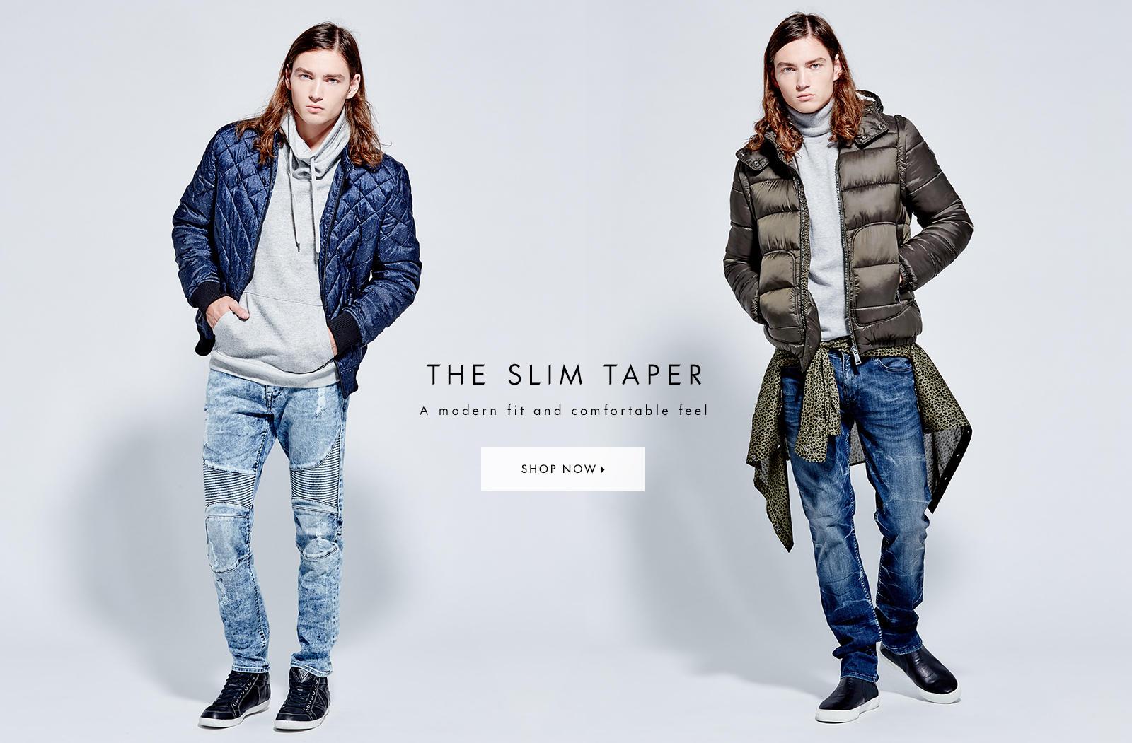 MENS SLIM TAPER