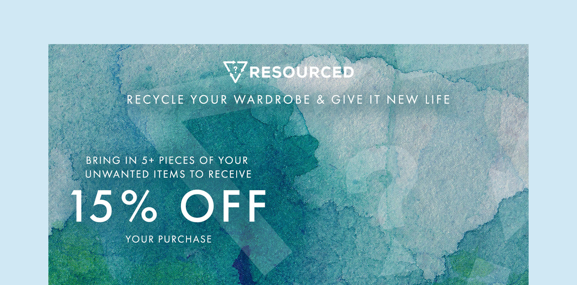 recycle your wardrobe give it new life