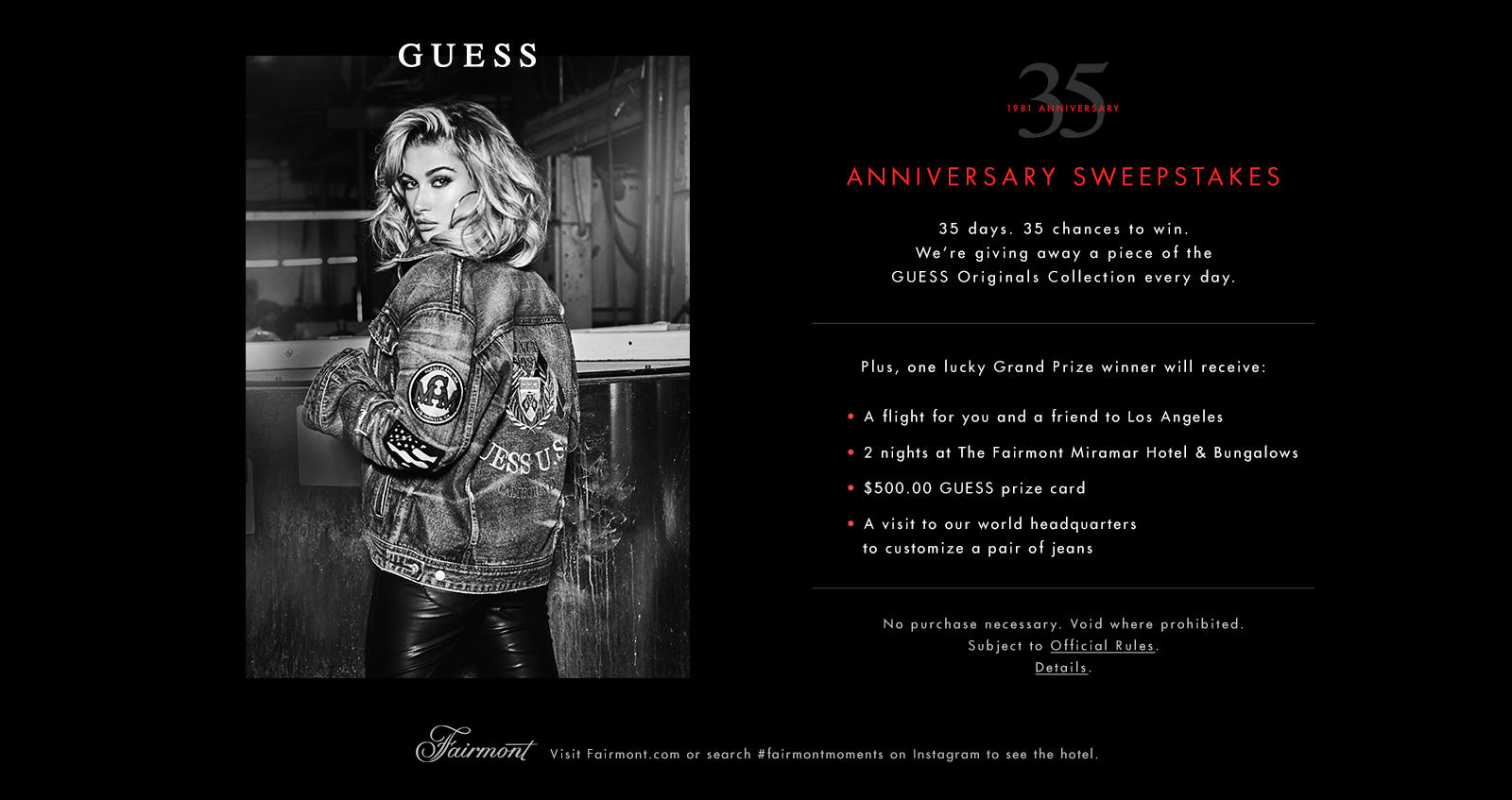 GUESS 35 Anniversary