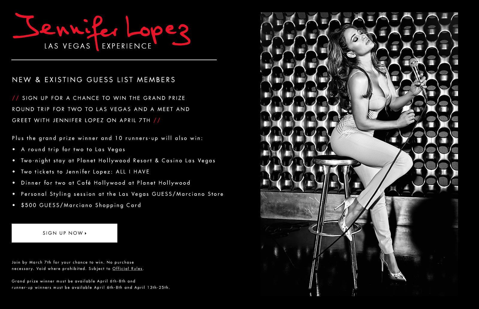 Jennifer Lopez Las Vegas