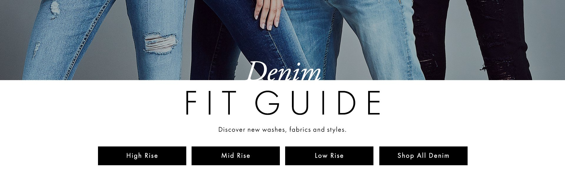 Fall Denim Fit Denim