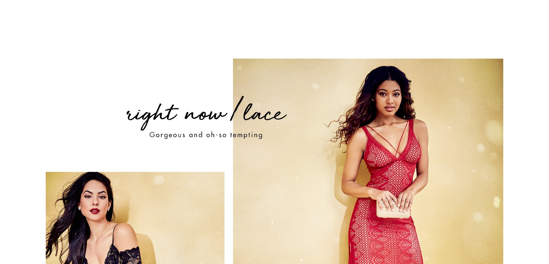 right now/lace