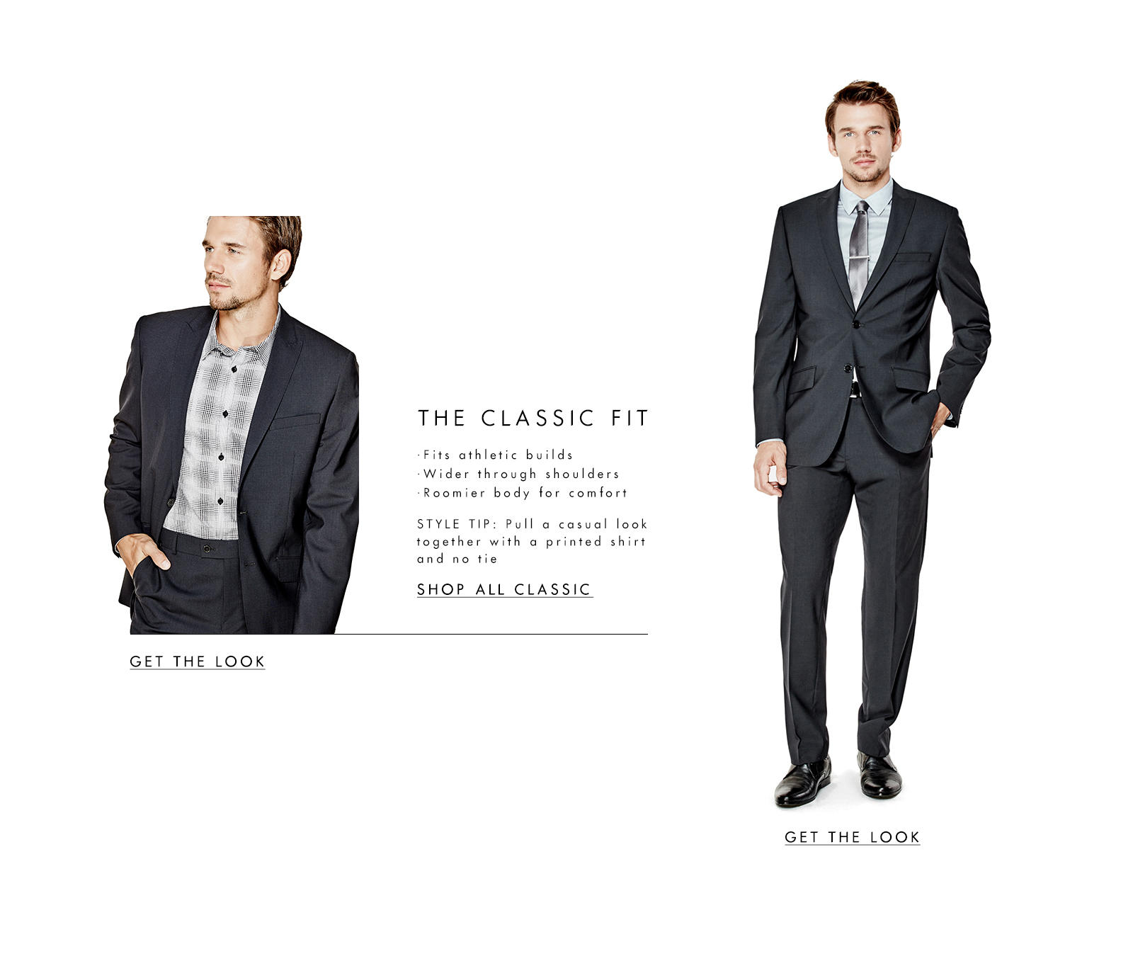 Suiting: The Classic Fit