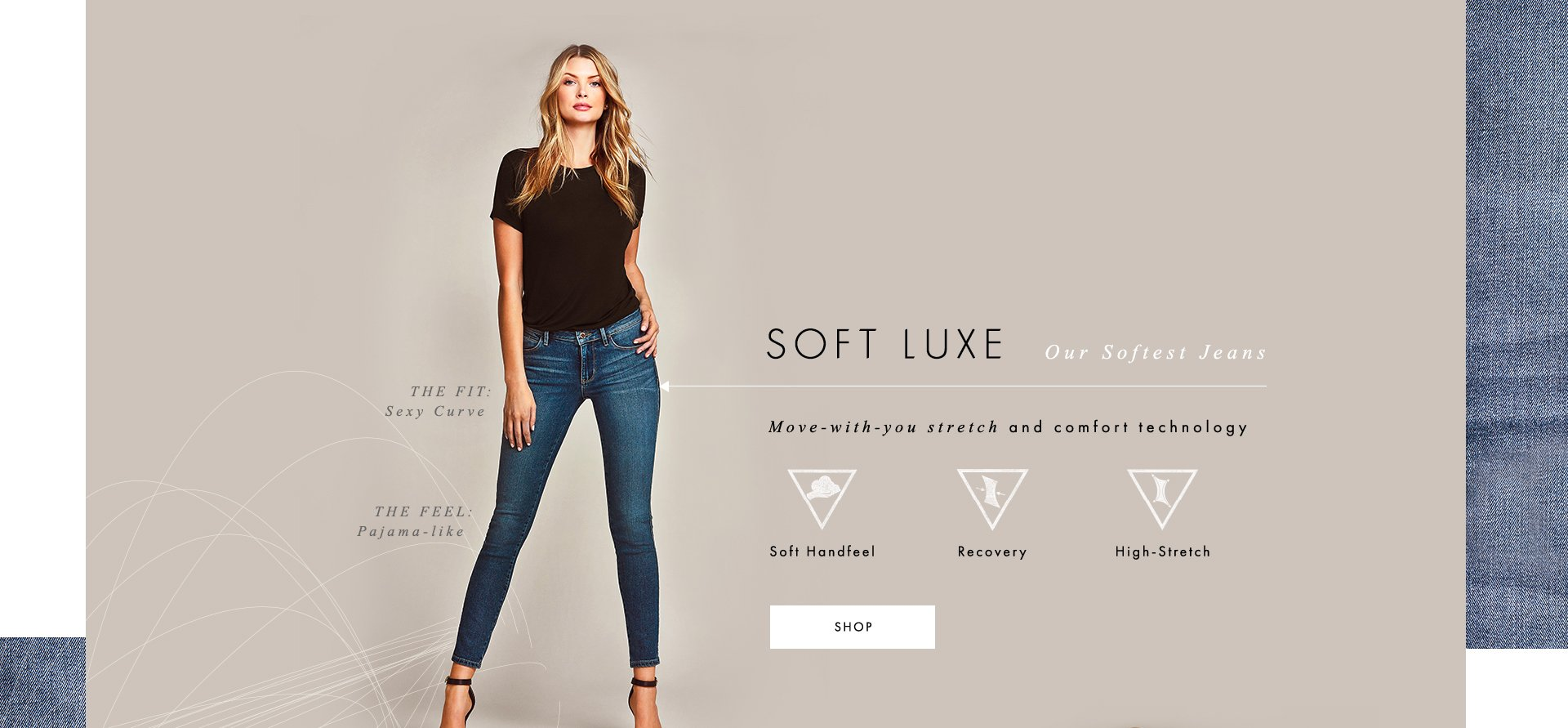 Soft Luxe Our Softest Jeans