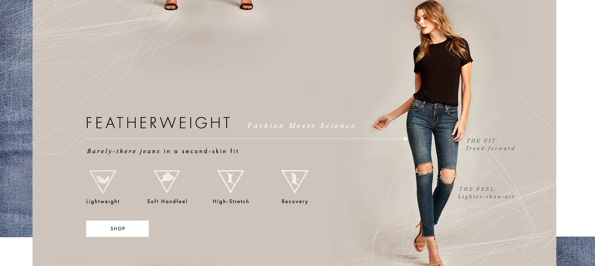 Featherweight Fashion Meets Science