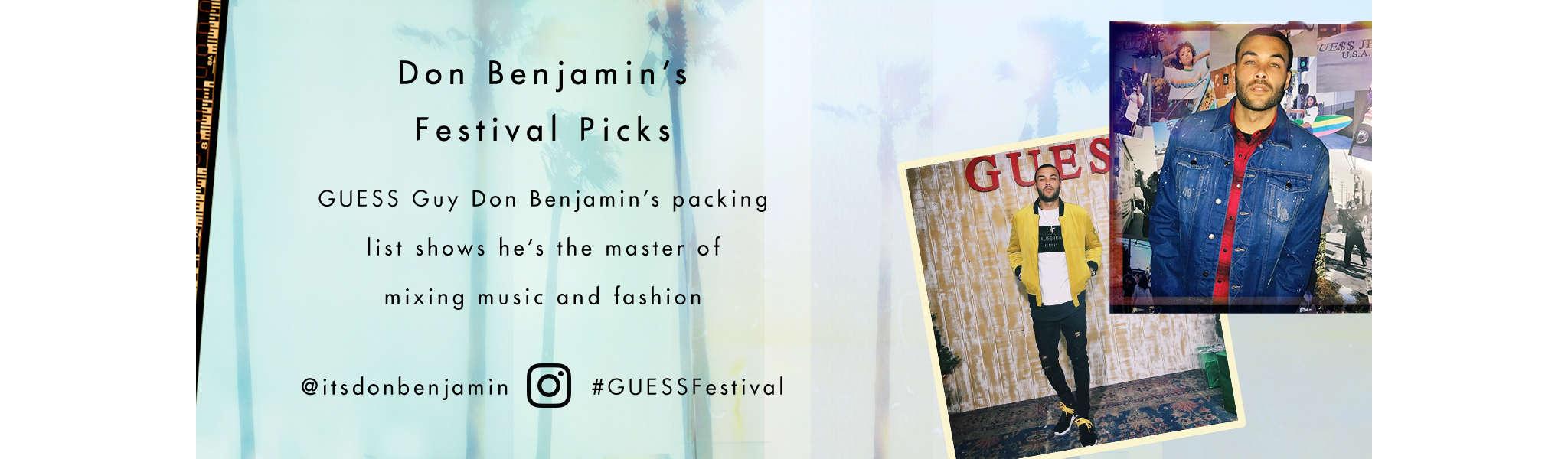 Don Benjamin's Festival Picks