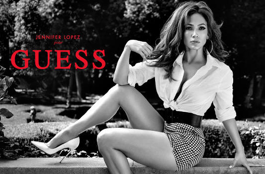 Jennifer Lopez pour GUESS