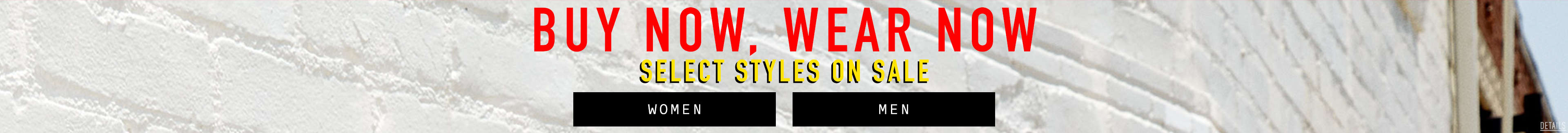 Select styles on sale