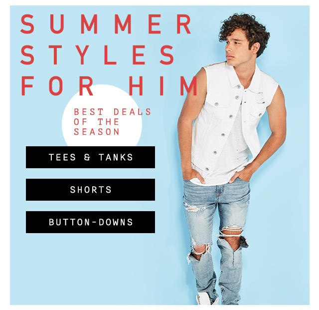 Summer Styles for him