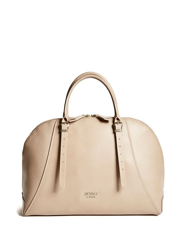 0949b13986 Luxe Leather Dome Tote