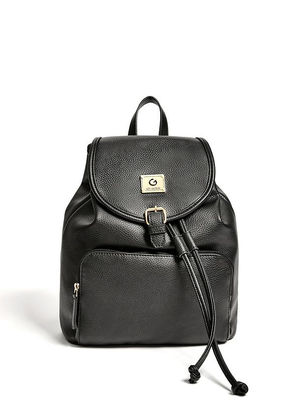 a6653f5bb5 Cherry Faux-Leather Backpack