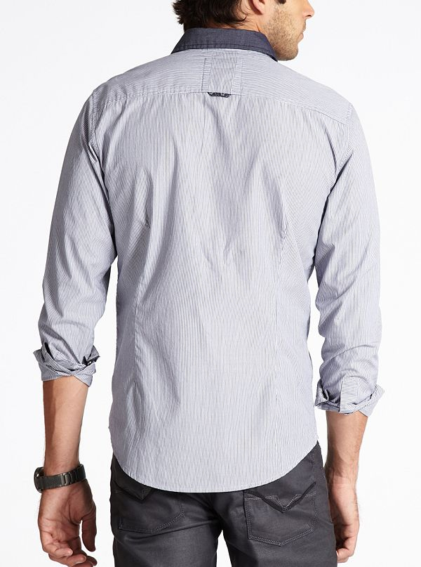 Rockwell Long Sleeve Slim Fit Shirt