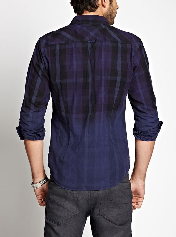 Dillon Slim Fit Dip Dyed Shirt