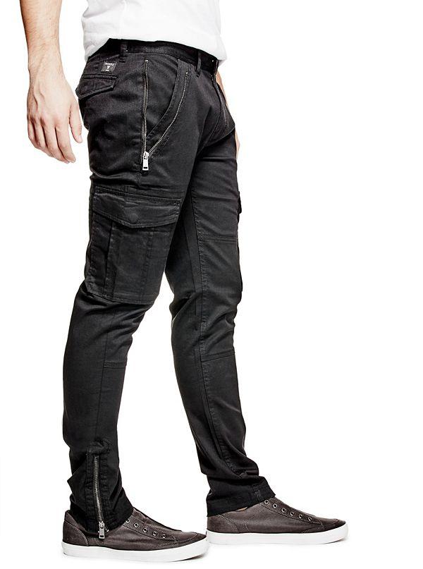 Zip Cargo Pants