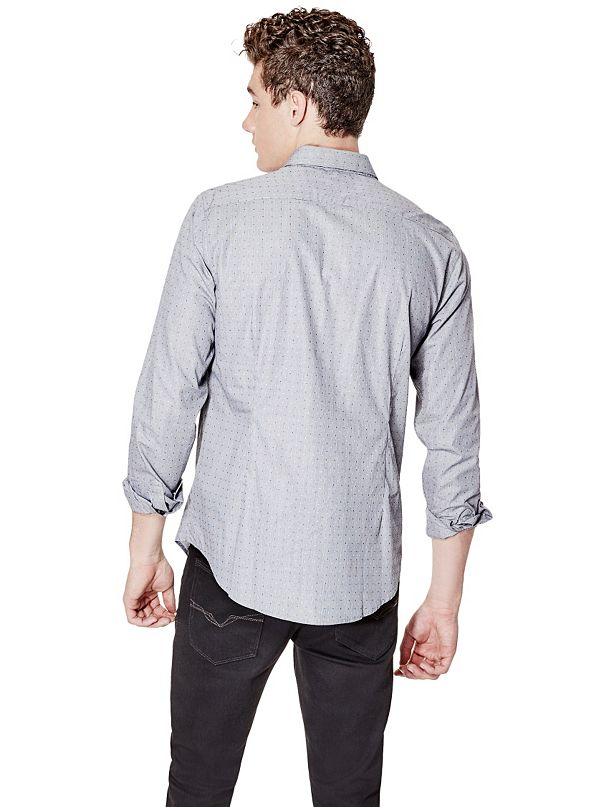 Dylan Long Sleeve Check Slim Fit Shirt
