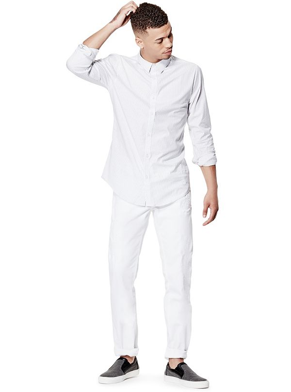 Beckett Striped Super Slim Fit Shirt