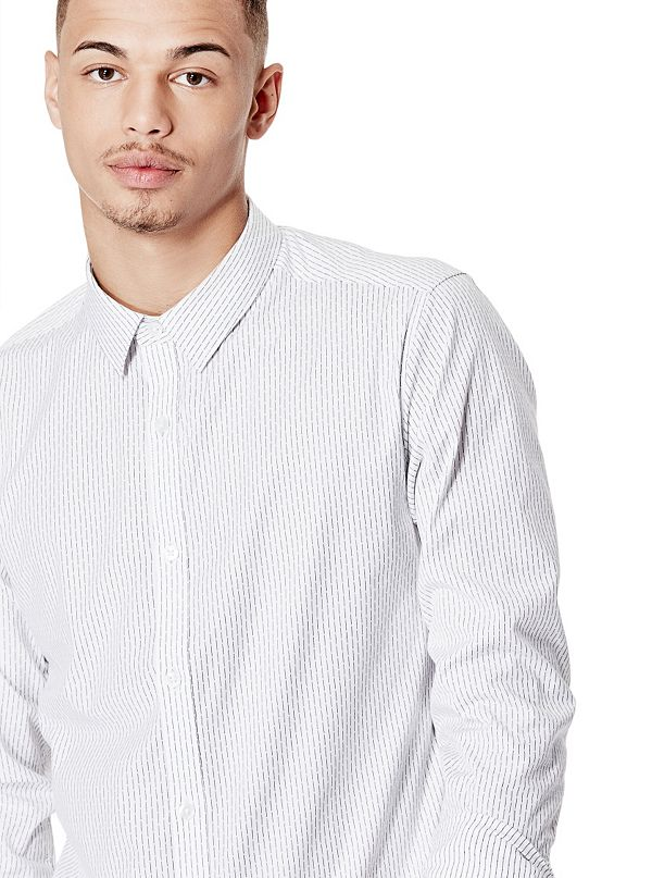 Beckett Striped Super Slim Fit Shirt