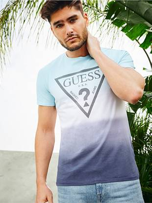 A Frame Logo Tee by Guess