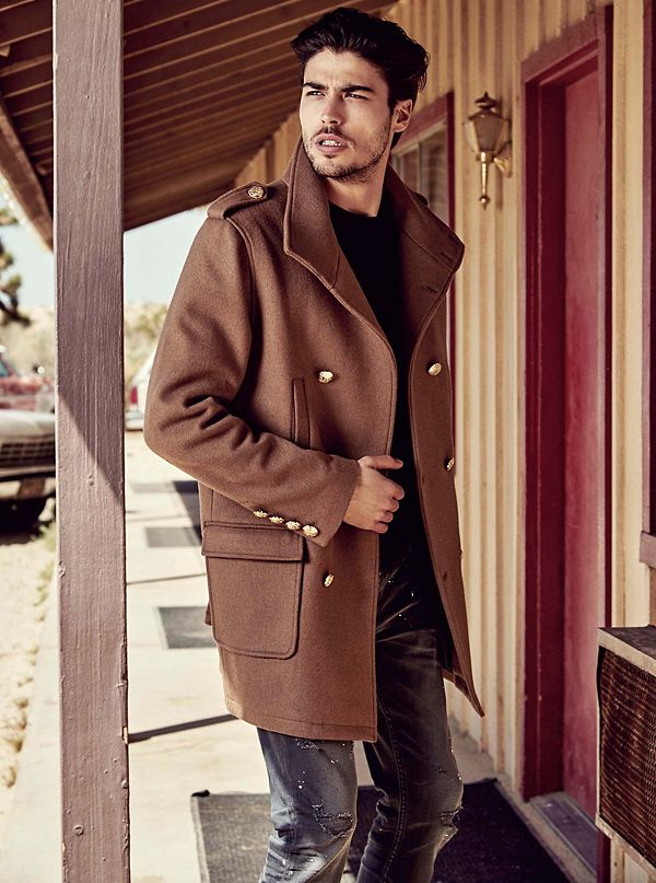 Tex Faux Shearling Coat by Guess