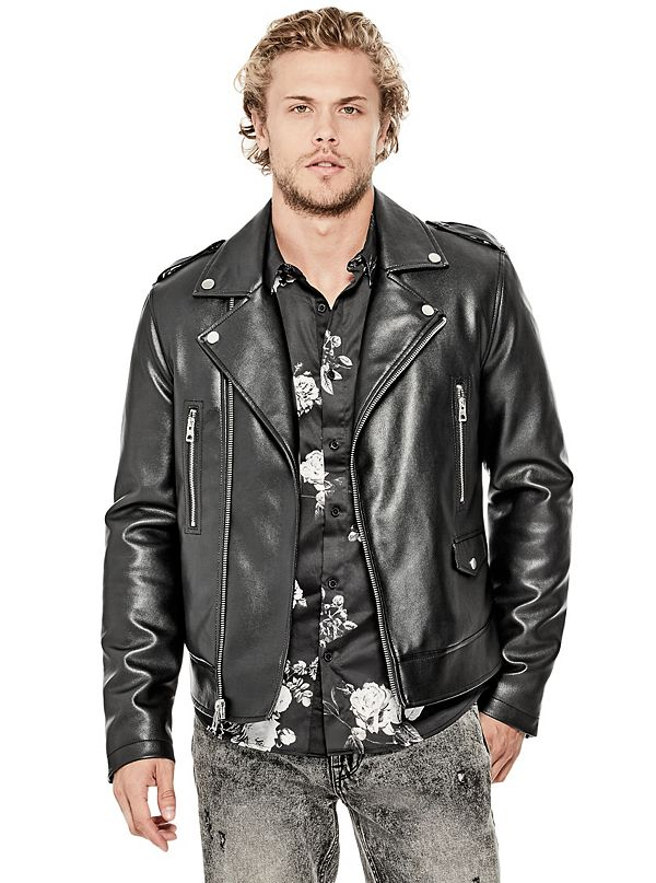 Men's Leather Jackets | GUESS