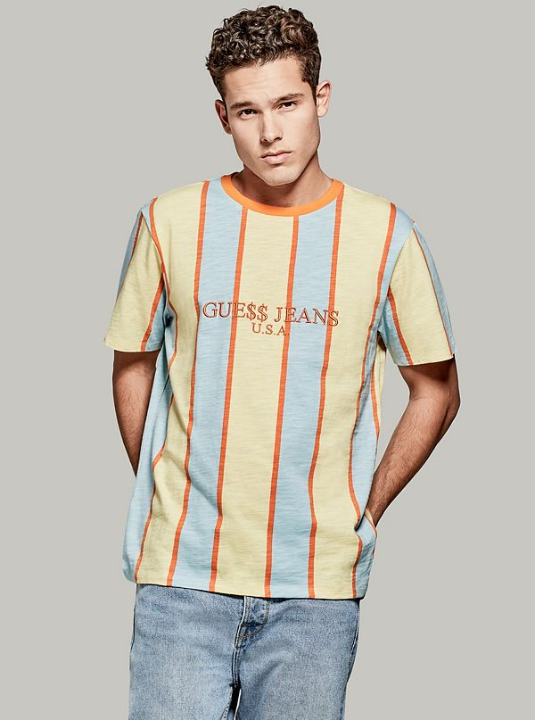 a1da8ac64389 A$AP Rocky Striped Short-Sleeve Tee. Out of Stock. SIZE CHART