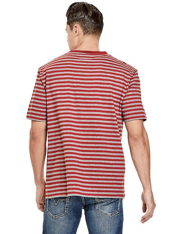 e5f6953a7f21 GUESS Originals Oversized Robertson Striped Tee. M81P83R44I2-P5B1-ALT3