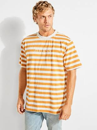9020207059 GUESS Originals Striped Tee | GUESS.ca