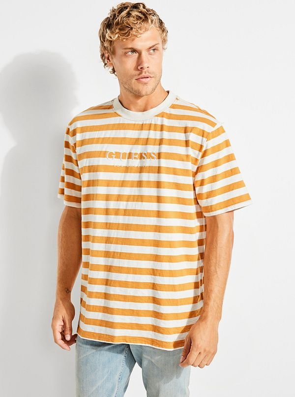58d42df5 GUESS Originals Striped Tee | GUESS.com
