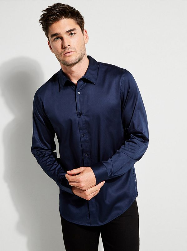 249c67df48ab Luxe Stretch Long-Sleeve Shirt