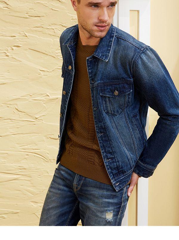 dillon patch denim jacket