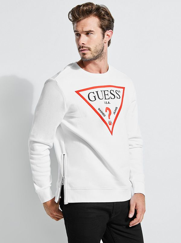 eecdc6fe77204 Roy Triangle Logo Pullover Sweater