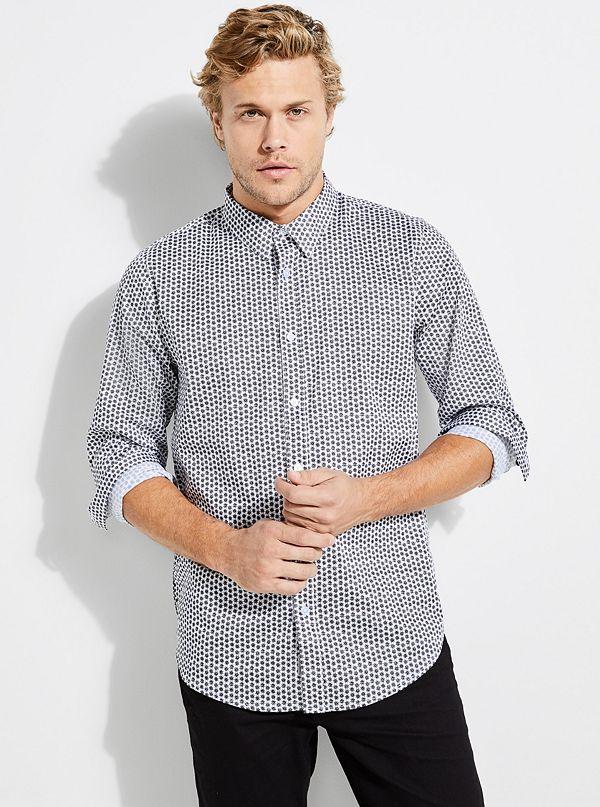 All Mens Shirts Guess
