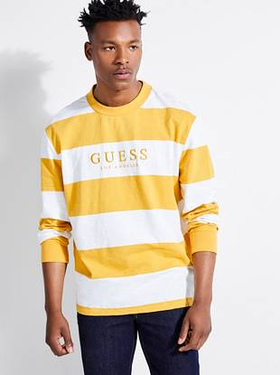 Guess Originals Varsity Stripe Tee by Guess