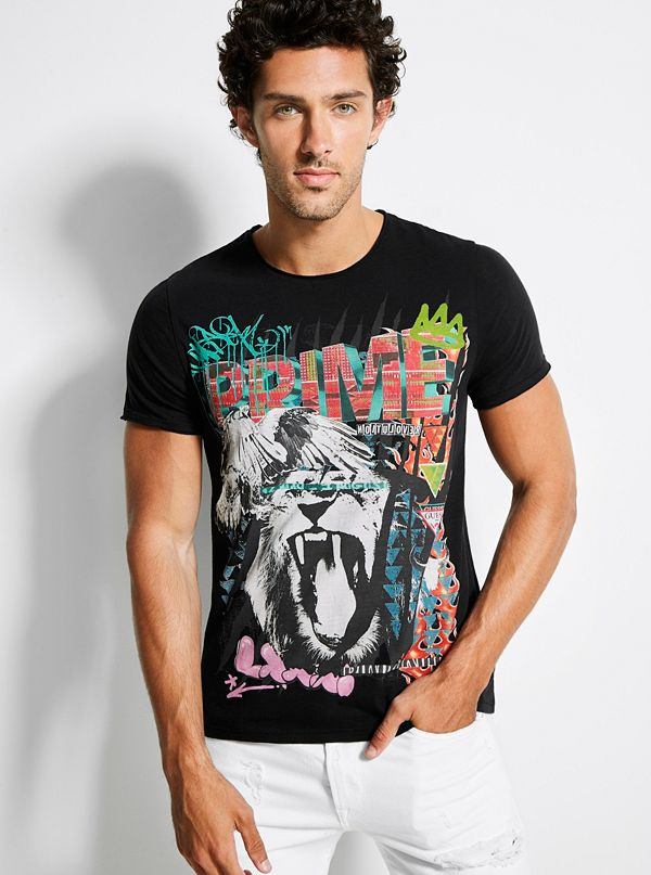 27774669d New Arrivals · GUESS Eco Organic Cotton Graphic Tee
