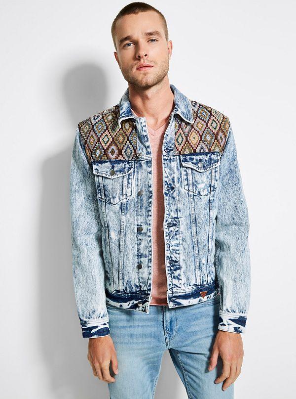 119f67addcc M92XN1R2IB7. best seller · Heritage Patch Denim Jacket