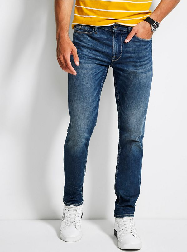 a43e5b734e2bf2 Men's Slim Tapered Jeans | GUESS